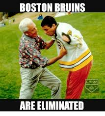 Bruins Memes - boston bruins lakm are eliminated meme on me me
