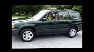 subaru green forester 2005 subaru forester 2 5 x all wheel drive youtube