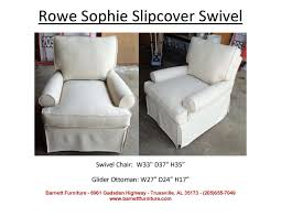 Swivel Glider Chair With Ottoman Barnett Furniture Slipcover Sofas Sectionals Chair And Ottoman