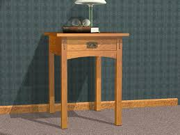shaker end table plans awesome furniture plans blog archive mission end table plans