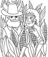 indian corn coloring sheet thanksgiving indian corn harvest