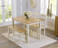 Tables With Bench Seating Dining Table Bench Chairs Best 25 Dining Table With Bench Ideas