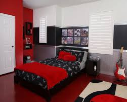 traditional black bedroom red endearing bedroom color red home
