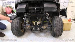 Golf Cart Off Road Tires How To Align A Yamaha G29 Drive Alignment On Golf Cart Youtube