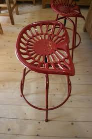 furniture inspiring antique bar stools design ideas with tractor