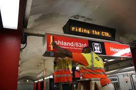 Cta Map Red Line Cta Red Line Shutdown Southern Branch Of U0027l U0027 Train Begins 5 Month