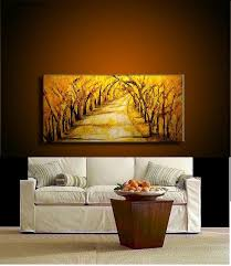 original abstract modern landscape made original abstract landscape painting modern tree pathway painting