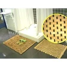 bathroom mat ideas bamboo bath mat holidaysale club