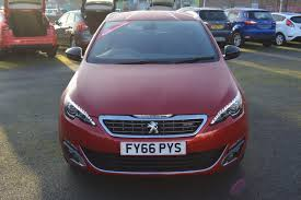 cheap automatic peugeot used 2016 peugeot 308 sw gt line 2 0 blue hdi s s 150 eat6