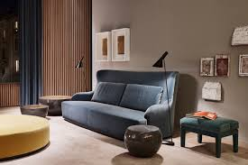 duke sofa design andrea parisio for meridiani salone del