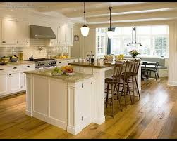preferential breakfast bar eating bar in l shaped kitchen designs
