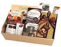 chocolate baskets guylian chocolate baskets