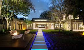 Outdoor Backyard Lighting Ideas Landscaping Lighting Ideas With Walkways And Outdoor Conversation