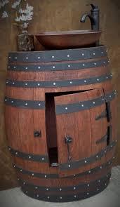 Bathroom Vanity With Copper Sink by Best 20 Wine Barrel Sink Ideas On Pinterest Barrel Sink Barrel