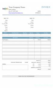 download photography invoice template free rabitah net sample word