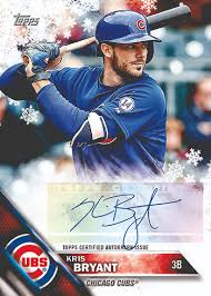 2016 topps holiday baseball checklist and details