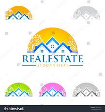 home design logo real estate vector logo design home stock vector 549946222