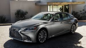 lexus sports car hp 2018 lexus ls sports twin turbo v6 415 hp and 10 speed auto at naias