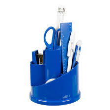 12pc office stationery organiser set rotating desk tidy pen holder