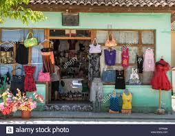 a womens u0027 clothes shop in the small town of kelcyre in southern
