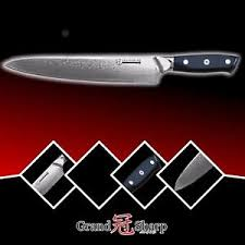 vg10 kitchen knives 9 5 inch chef knife damascus japanese stainless steel vg10 kitchen