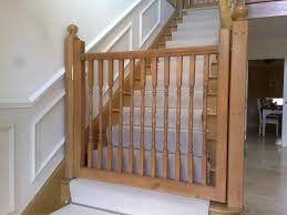 Baby Gates For Stairs No Drilling Wooden Dog Gate For Stairs Latest Door U0026 Stair Design