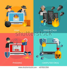 design attack cyber attack stock images royalty free images vectors