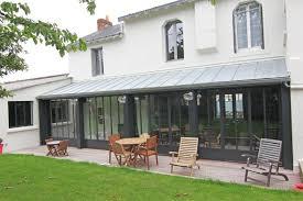 Prix Au M2 Veranda Extension En Acier Et Zinc Sur Nantes House Pinterest
