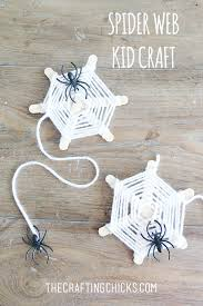 Halloween Crafts For Kindergarten Party by Spider Web Yarn Kid Craft Spider Webs Spider And Yarns