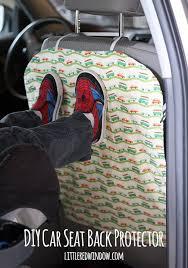 Car Upholstery Repair Tape Diy Car Seat Back Protector Footprints Car Seats And Diy Car