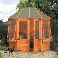 octagonal wooden summer house by mercia affiliate discount
