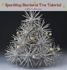 how to diy a retro starburst tree crafts n coffee