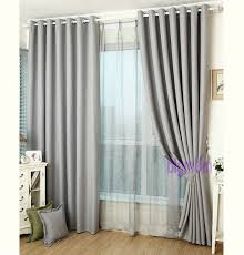 2018 linen curtains for living room tulle cloth curtain white red