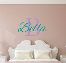 Personalized Wall Decals For Nursery Custom Name Boys Wall Decal Monogram Personalized Name