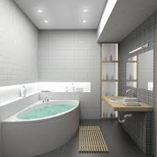 bathroom chic small bathroom space idea with screened bathtub