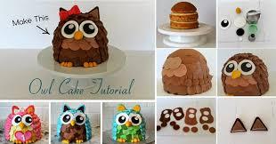 owl cake how to make an owl cake home design garden architecture