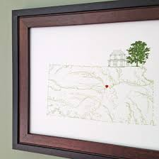 Etsy Maps Turn Of The Centuries The Midwestern States Usa Map Drawings