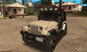 classic jeep modified jeep for gta san andreas