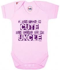 funny baby grow for boys girls baby shower gift bodysuit christmas