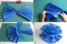 New Como fazer pompons de papel de seda - dcoracao.com - blog de  #GX56