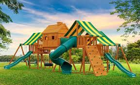 Swing Set For Backyard by Imagination Cedar Playset A Best In Backyards