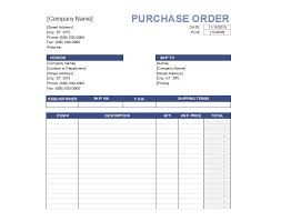 Po Template 37 free purchase order templates in word excel