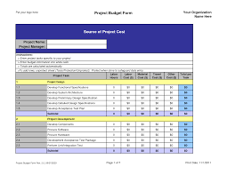 project budget template e commercewordpress