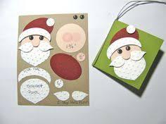 reindeer santa punch by joanne cards