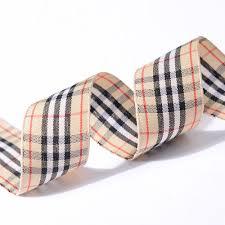 and black plaid ribbon and black plaid tartan on ribbons