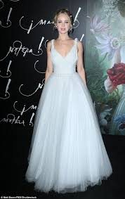 jennifer lawrence dons white at the ny premiere of mother daily
