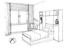 dessin chambre dessin d une chambre photo dessiner sa chambre en perspective