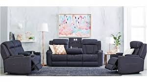 Harvey Norman Recliner Chairs Buy 3 Seater Fabric Lounge Powered Recliner Harvey Norman Au