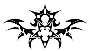 tribal cross tattoo design clip art library