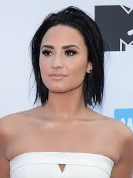 best hair to use for a bob 7 times demi lovato nailed bob haircut hairstyles